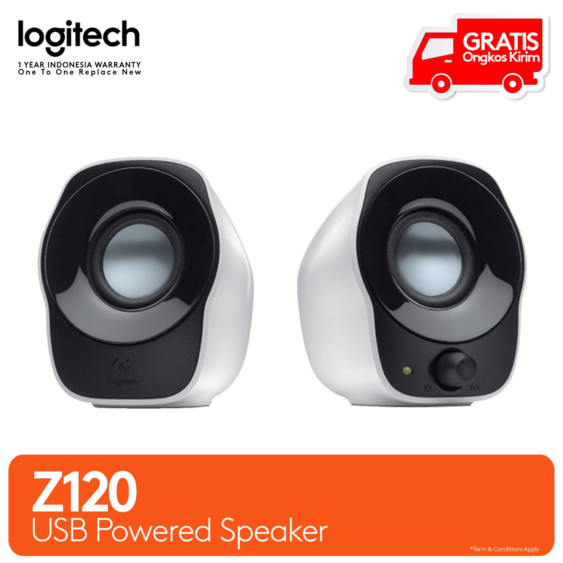 Logitech Speaker Z120 2.0 - Stereo Speakers - USB Power