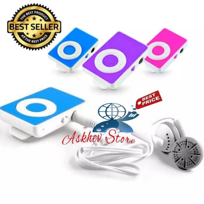 Askhev Mini MP3 Player - Hitam