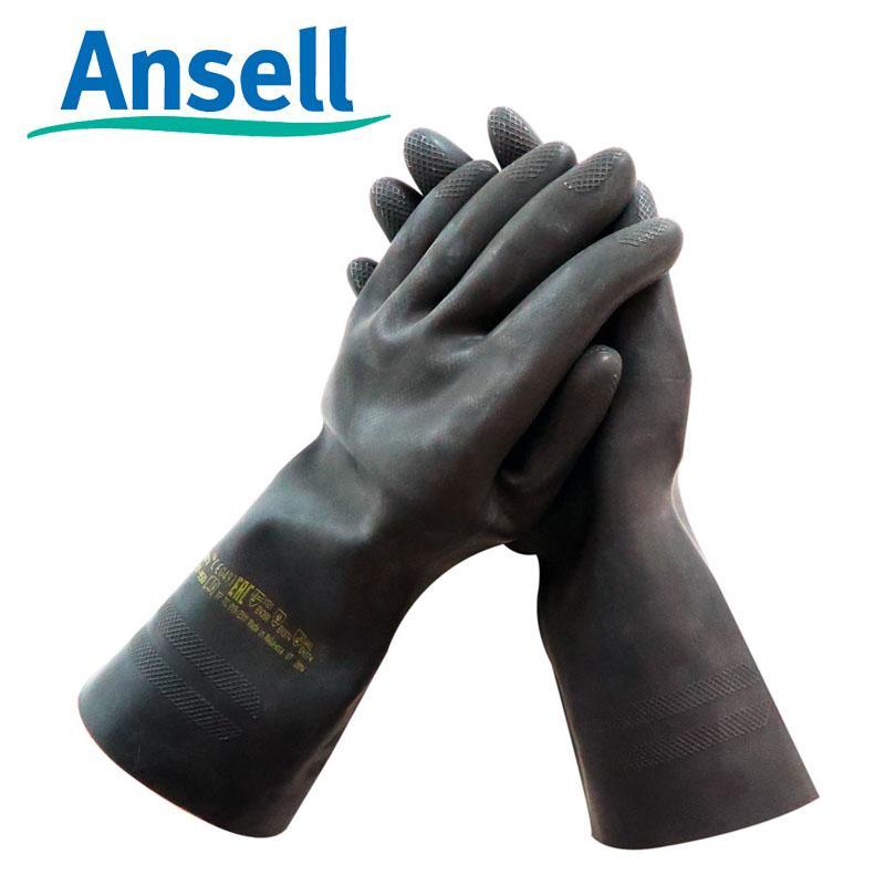 Ansell Sarung Tangan Ansell87-950 Karet Anti Kimia Laboratorium