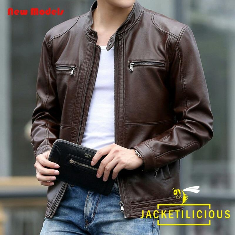 Jaket Bikers Casual Semi Kulit (JACK040)