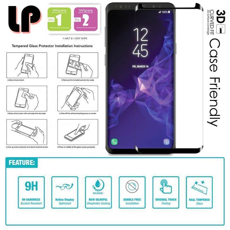 LP Full 3D II Tempered Glass Samsung Galaxy S9 Plus
