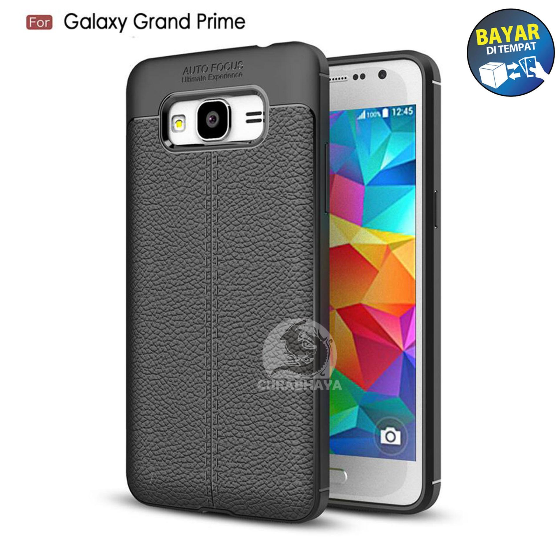 AutoCase Samsung Galaxy Grand Prime (G530) / Duos | Ultimate AutoFocus Leather 3D Case Protect Motif Kulit Jeruk