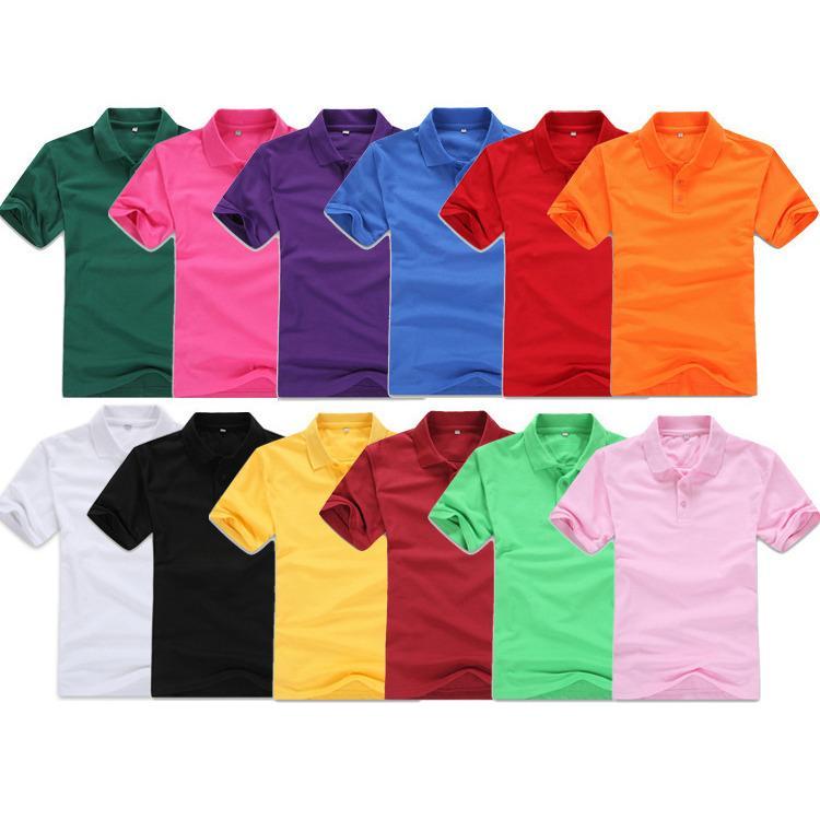 Polo Shirt Polos Pria Cowok Baju Kaos Kerah Wanita Unisex Lacos