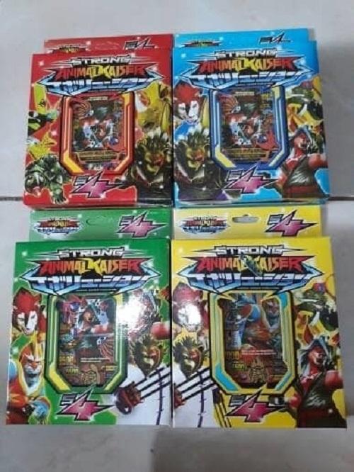 Kartu Animal Kaiser Strong S4 - Kartu Mainan Animal Kaiser Strong S4 By F-Toys