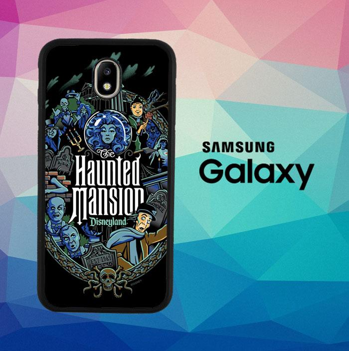 Haunted Mansion Disneyland L2473 Casing Custom Hardcase Samsung Galaxy J3 Pro 2017 Case Cover