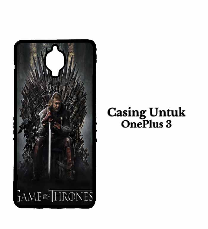 Casing ONEPLUS 3 game of thrones inspired Custom Hard Case Cover