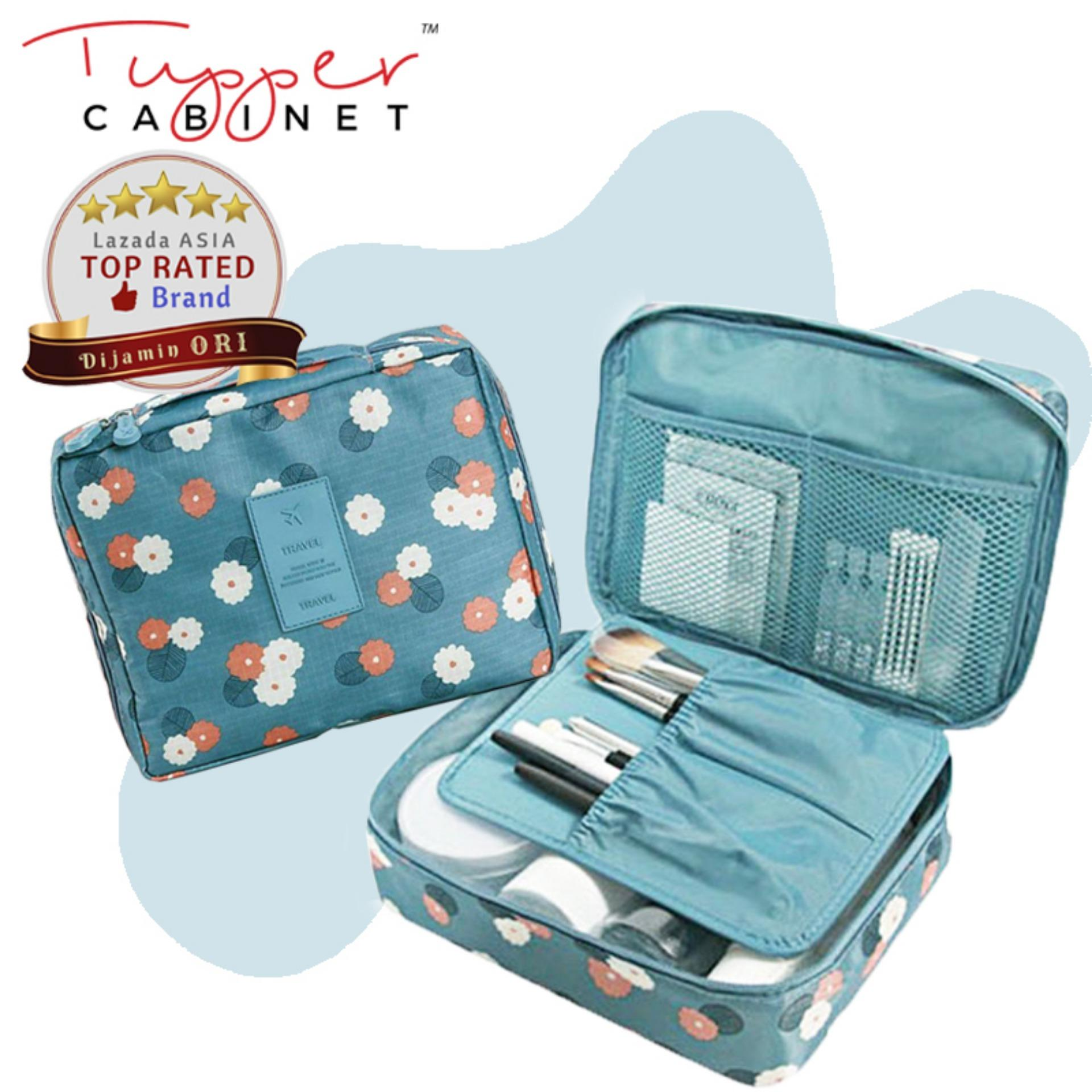 Tas Travel Pouch Kosmetik Tas Make up Organizer Toiletries Bag Tas Tangan Sabun Mandi Makeup Toiletries