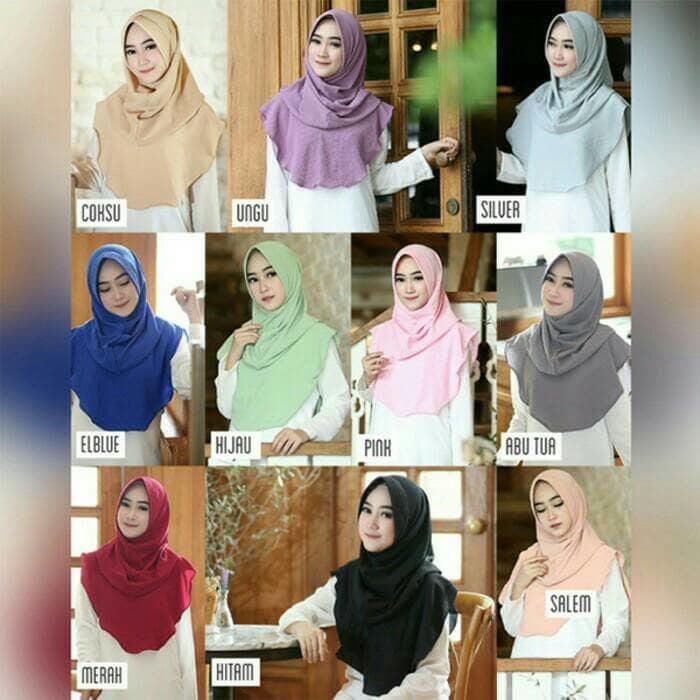 Jual Jilbab Hijab Instan Felica Pad / Felica Withpad Murah Berkualitas