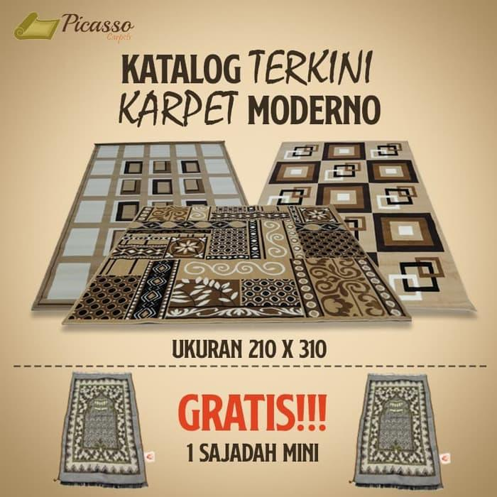 ready stock Katalog Terkini Karpet Moderno Uk 210 X 310 Harga Termurah - promo