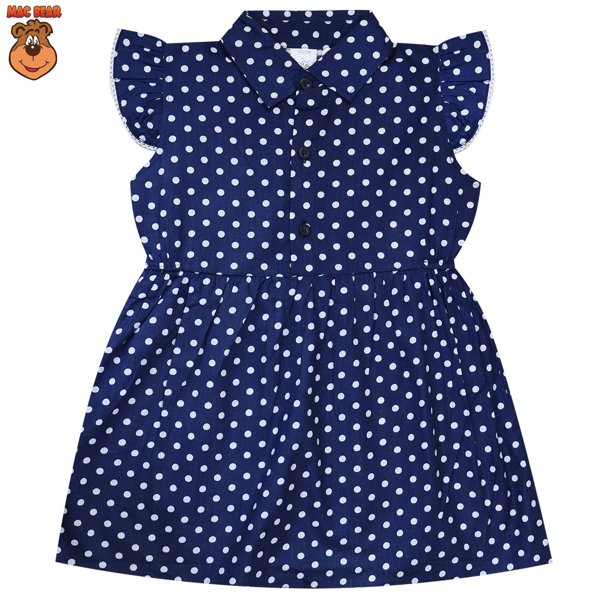 MacBee Kids Baju Anak Dress Sweet Polkadot