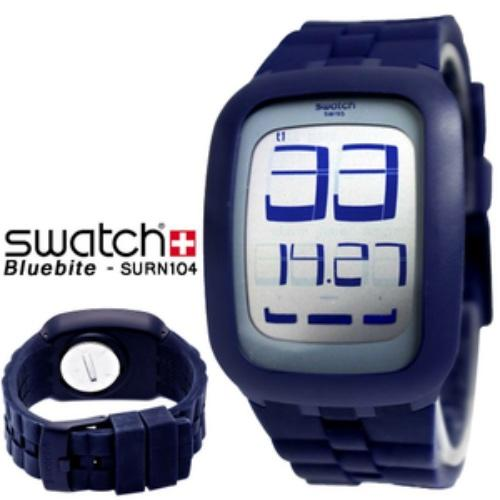 Jam Tangan Swatch Touchscreen ORIGINAL SURN104 Bluebite