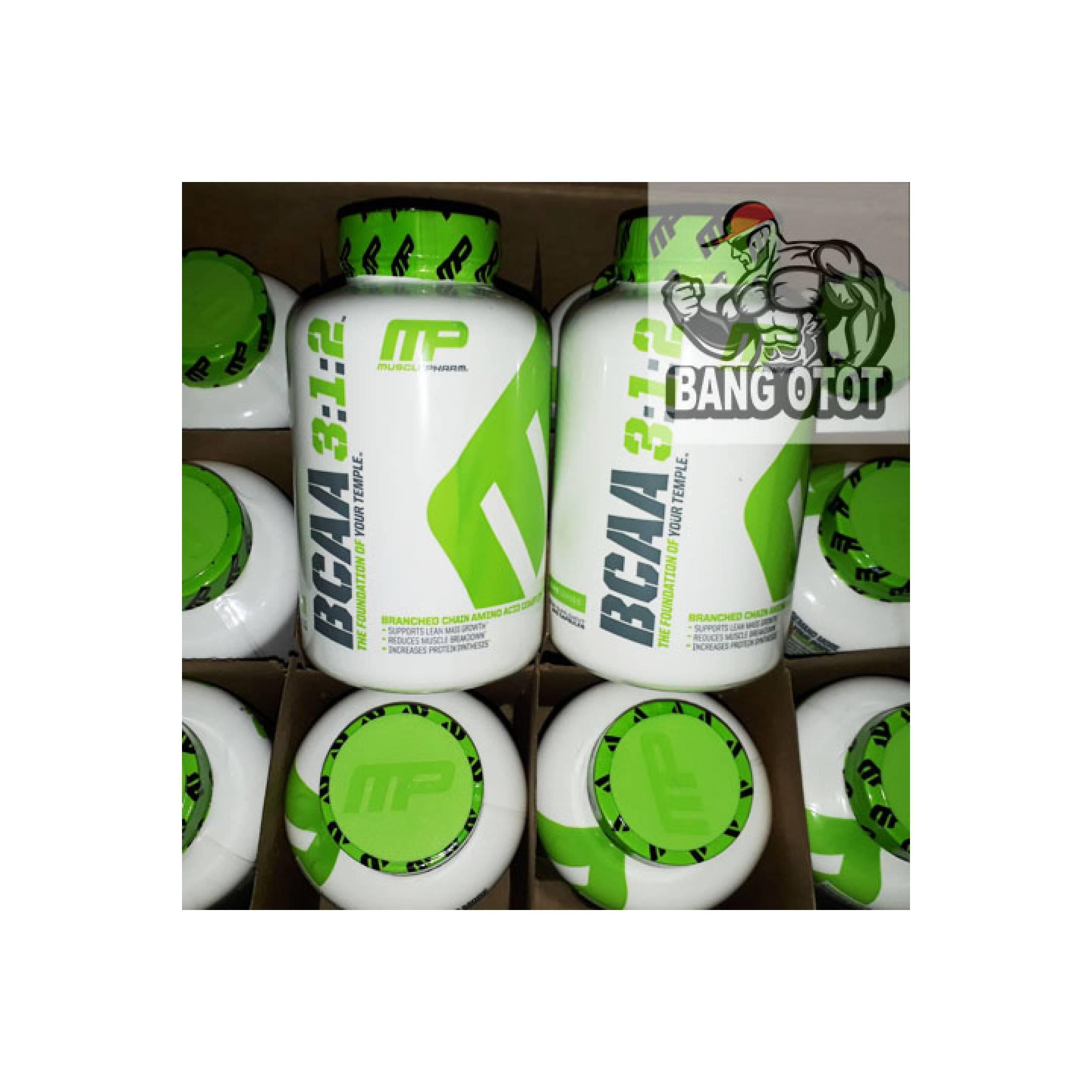 MP BCAA 3:1:2 240 Capsules MUSCLE PHARM BCAA 312 240Caps BCAA 240