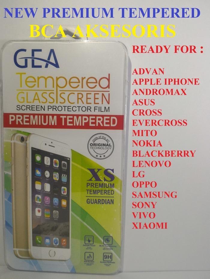 TEMPERED GLASS VIVO Y28 / GEA PREMIUM QUALITY/ ANTI GORES KACA