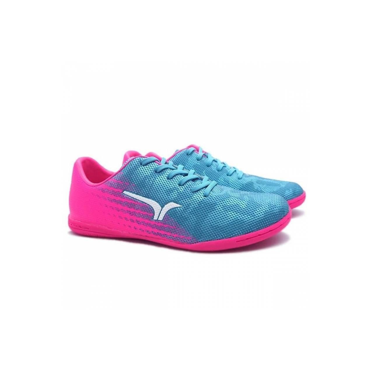 Sepatu Futsal Calci Ceranno ID Blue Fuchsia