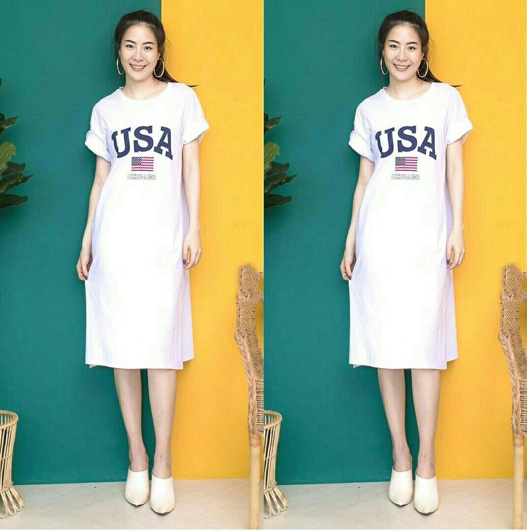 FJCO 7G USA / Dress wanita / Fashion wanita