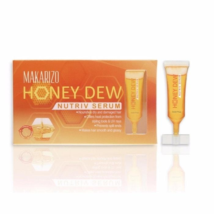 TOP PRODUK - KESEHATAN DAN KECANTIKAN - PERAWATAN TUBUH - PERAWATAN RAMBUT - MINYAK DAN SERUM RAMBUT - |Makarizo Honey Dew Nutriv Serum| - DAPAT 1 PCS - HARGA PROMO
