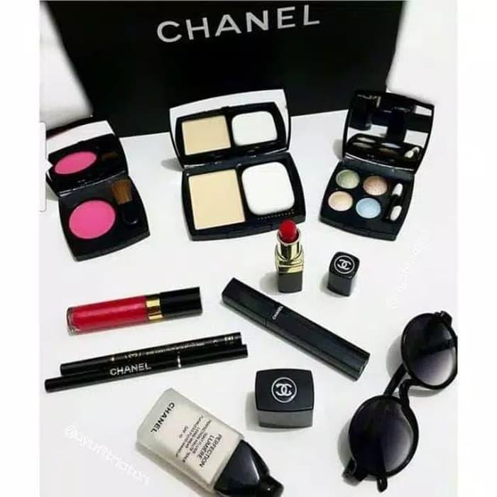 Fave COD Bayar Ditempat - Chanel Palette Make Up Set 9 in 1 Pallette Pallete b815848ca3