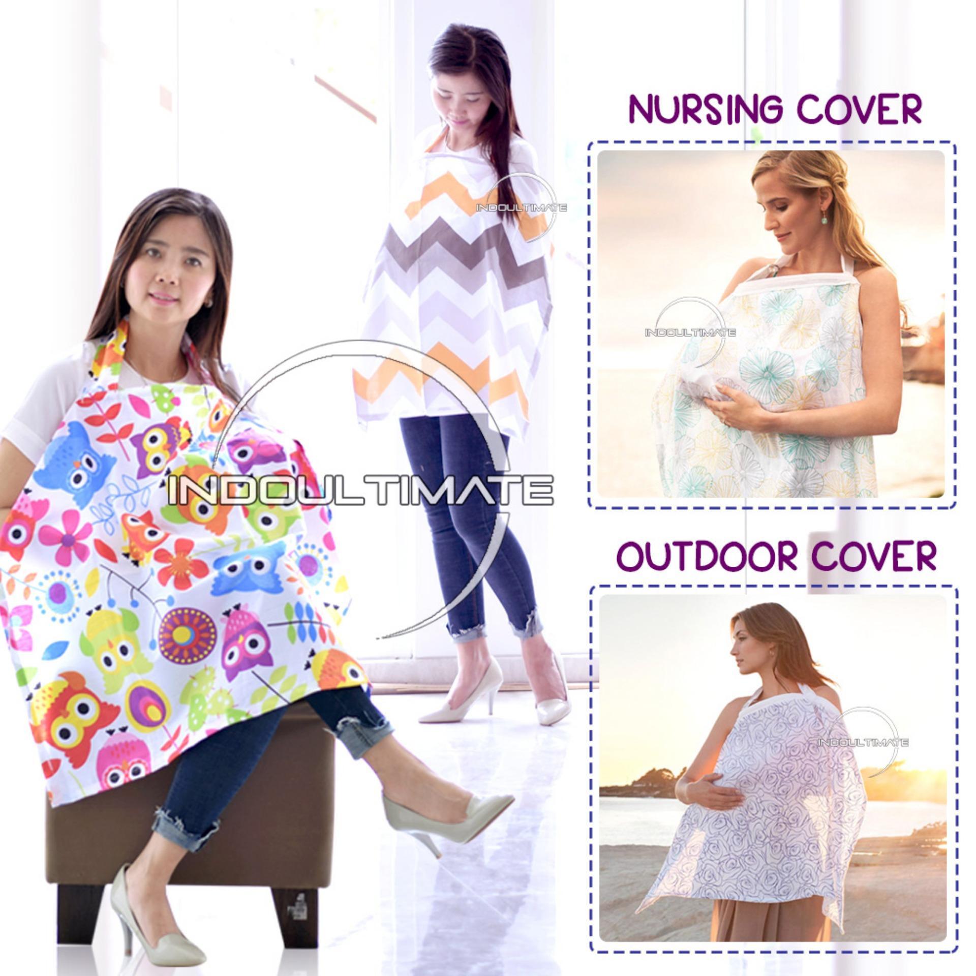 Cover Penutup Ibu Menyusui RANDOM motif CA-01 / Nursing Cover / Breastfeeding Cover / Apron Menyusui / Celemek Menyusui / selimut bayi / perlengkapan bayi baru lahir / baju bayi perempuan / baju bayi laki laki / gendongan bayi