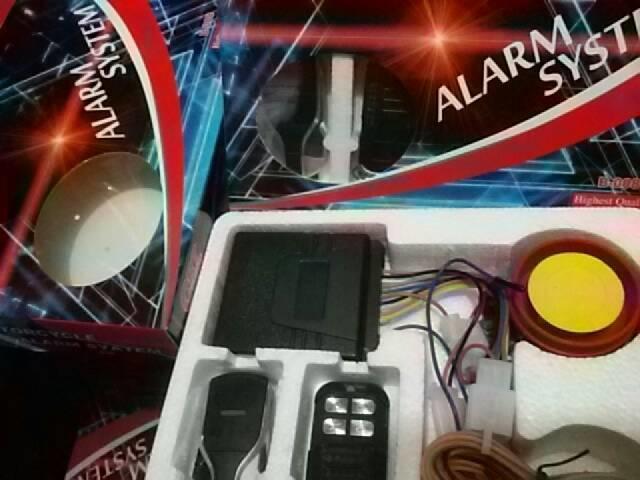 Alarm Motor Remote Starter CR7 BHT Bohante ALARM SYSTEM SILENT MODE | ( gembok alarm motor anti maling koper sepeda pagar cakram kinbar kode tas mobil clock rumah sensor gerak pintu digital remote lock bht ) |