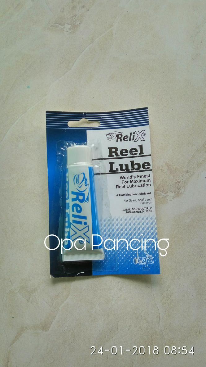 ASLI!!! Reel Lube Relix - ORPf8z