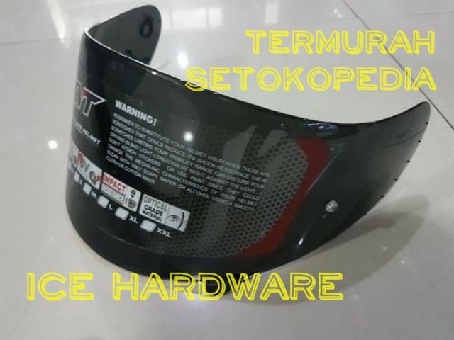 Flat Visor Dark Helm Motor KYT RC7 K2 Rider R10 Pinlock Ready Termurah || helm kyt / helm bogo / helm full face / helm ink / helm sepeda /helm motor/helm nhk/helm retro/helm anak/helm gm