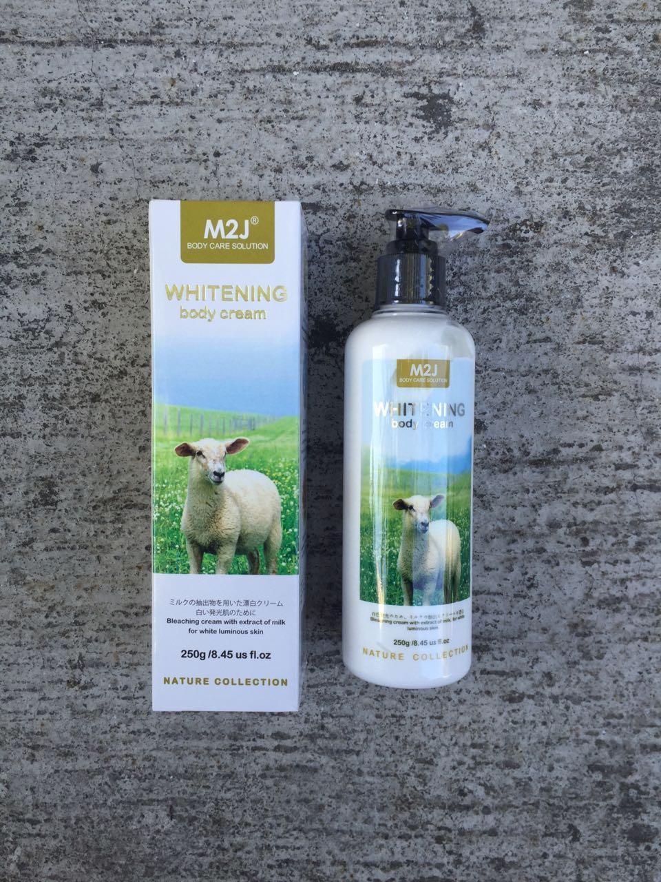 Sabun Cair Susu Domba M2J Shower Cream 500Ml N313. IDR 38,200 IDR38200. View Detail. M2J Whitening Body Cream - 250 mL