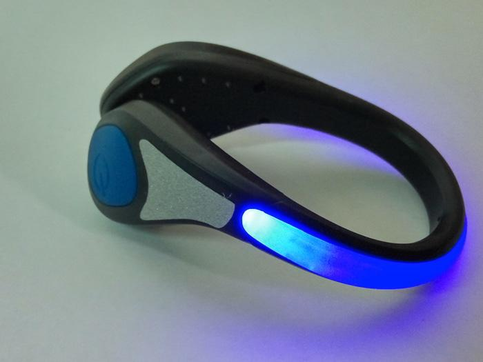 Salzmann Outdoor Cycling Running Reflective Led Shoe Light Blue By Hike N Run.