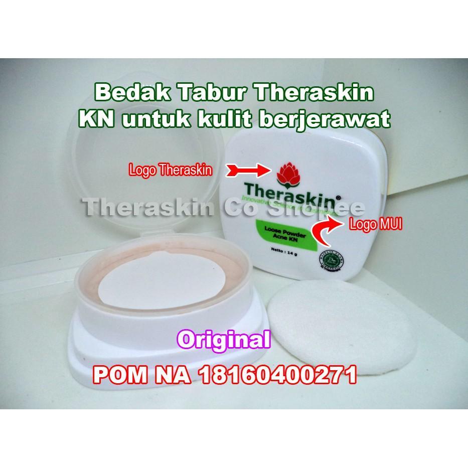 Theraskin Loose Powder Acne KN Bedak Tabur KN untuk kulit berjerawat Theraskin BPOM Original