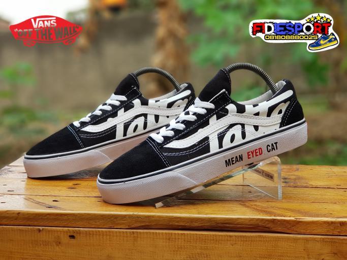 ORIGINAL!!! Sepatu Vans Patta Import/Vans Patta Premium/Vans Patta Baru - Hitam, 39