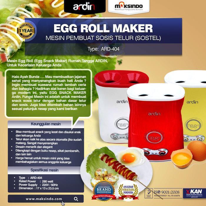 Terlaris Mesin Egg Roll Sosis Telur Ardin Diskon