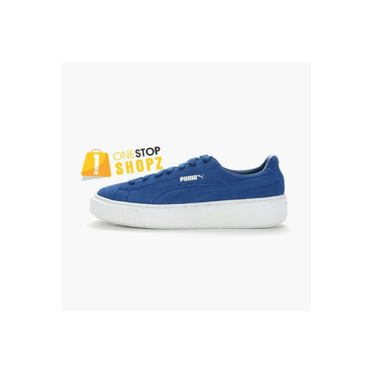 PUMA SUEDE PLATFORM 362223-02 MEN RUNNING SHOES ONESTOPSHOPZ OSS