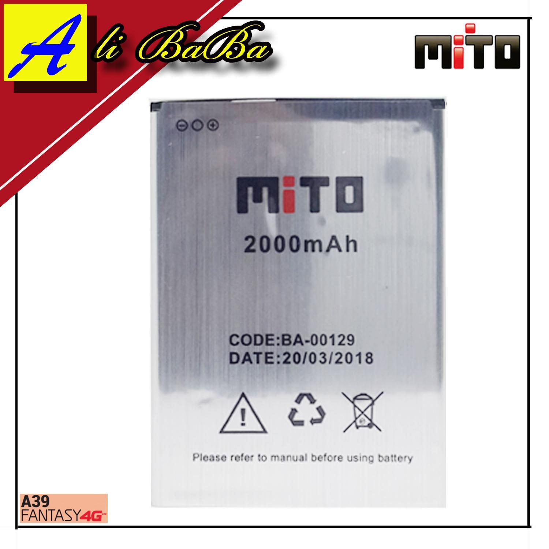 Baterai Handphone Mito A39 BA-00129 Batre HP Mito A39 Battery Mito A39