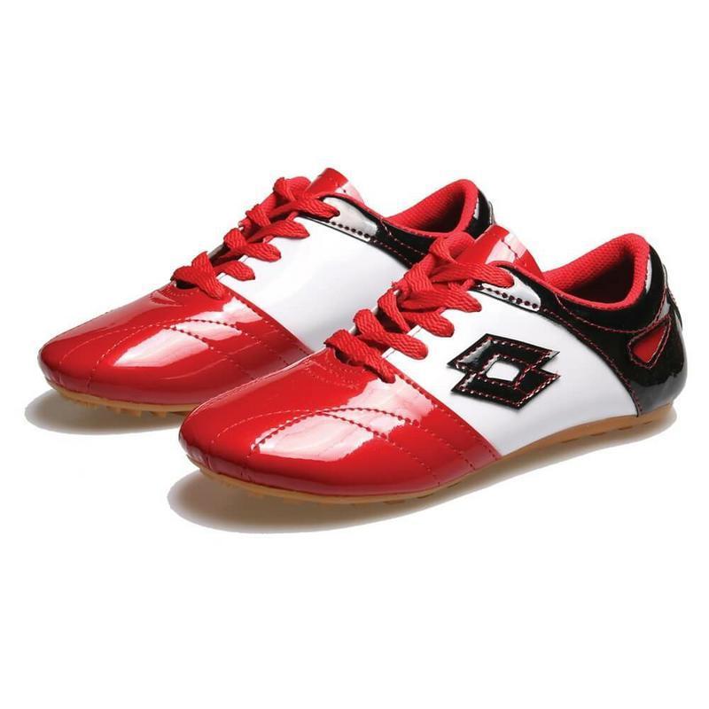 BSM Soga Sepatu Futsal Anak Laki-laki Merah Komb - BRU 321