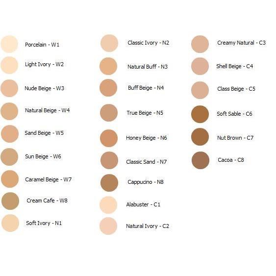 L'oreal True Match Lumi Healthy Luminous Makeup W1-2 Porce Light Iv