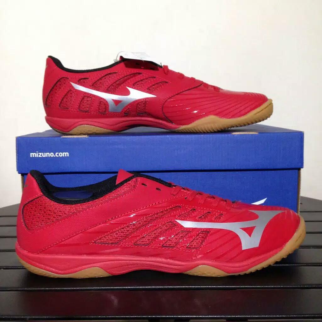 Sepatu Futsal Mizuno Basara 103 sala IN true red Q1GA183103 BNIB Original 0853d38126