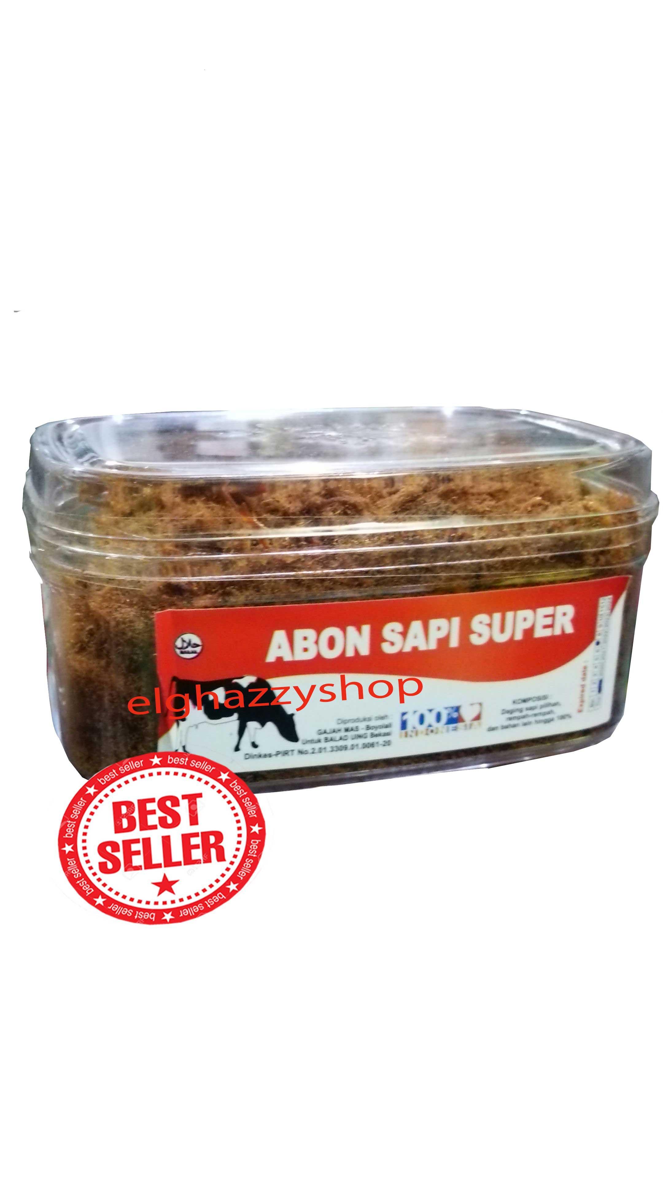 Abon Sapi Super Rasa Original Sangat Lezat & Gurih