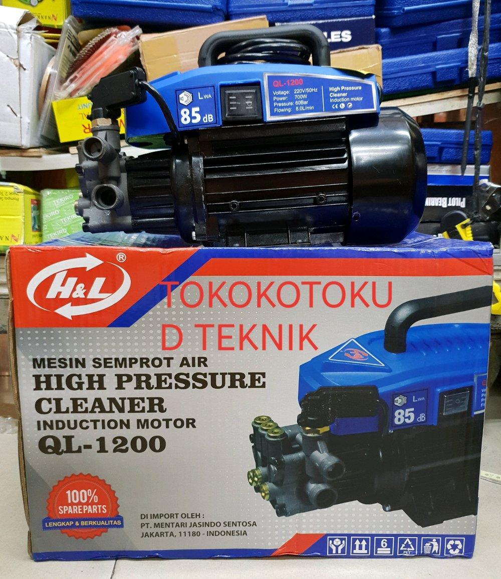 Jet Cleaner Mesin Cuci Mobil Motor H&L QL-1200