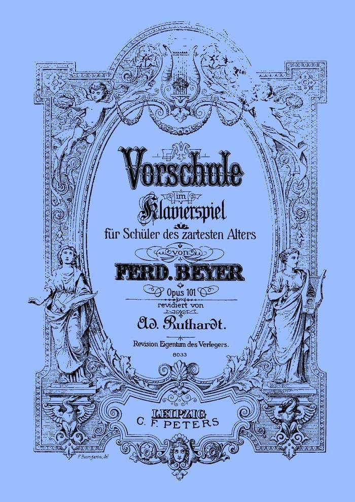 Buku Piano Beyer Op.101