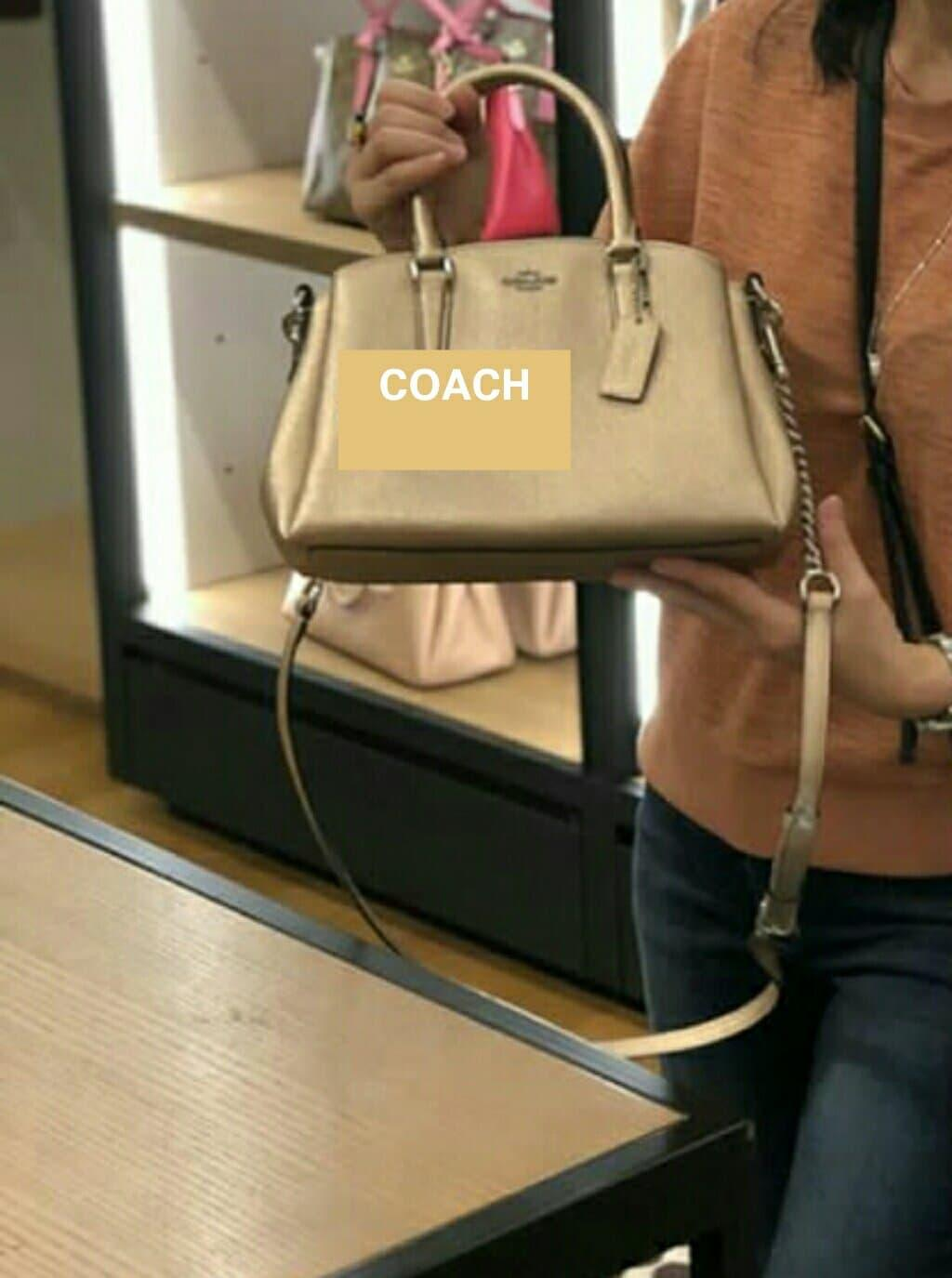 Daftar Harga Coach Small Crossby Yellow Update 2018 Chronoforce 5258mr Hitam Rosegold Ring Plat Buy Sell Cheapest Crossgrain Leather Best Quality Product Tas Mini Sage