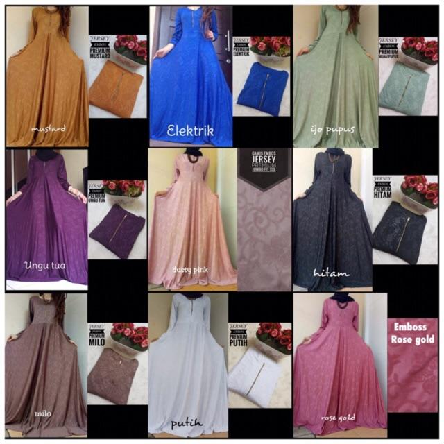 GAMIS EMBOS ALL SIZE (DONGKER)