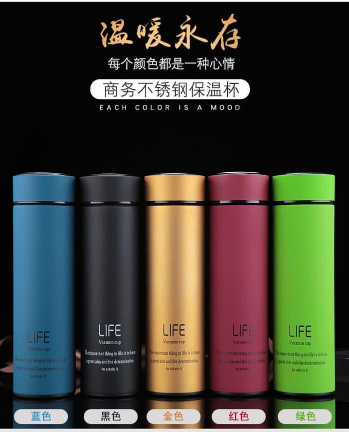 HARGA SPESIAL!!! Termos LIFE 500ml Vacuum Flask - Termos Air Minum B90-