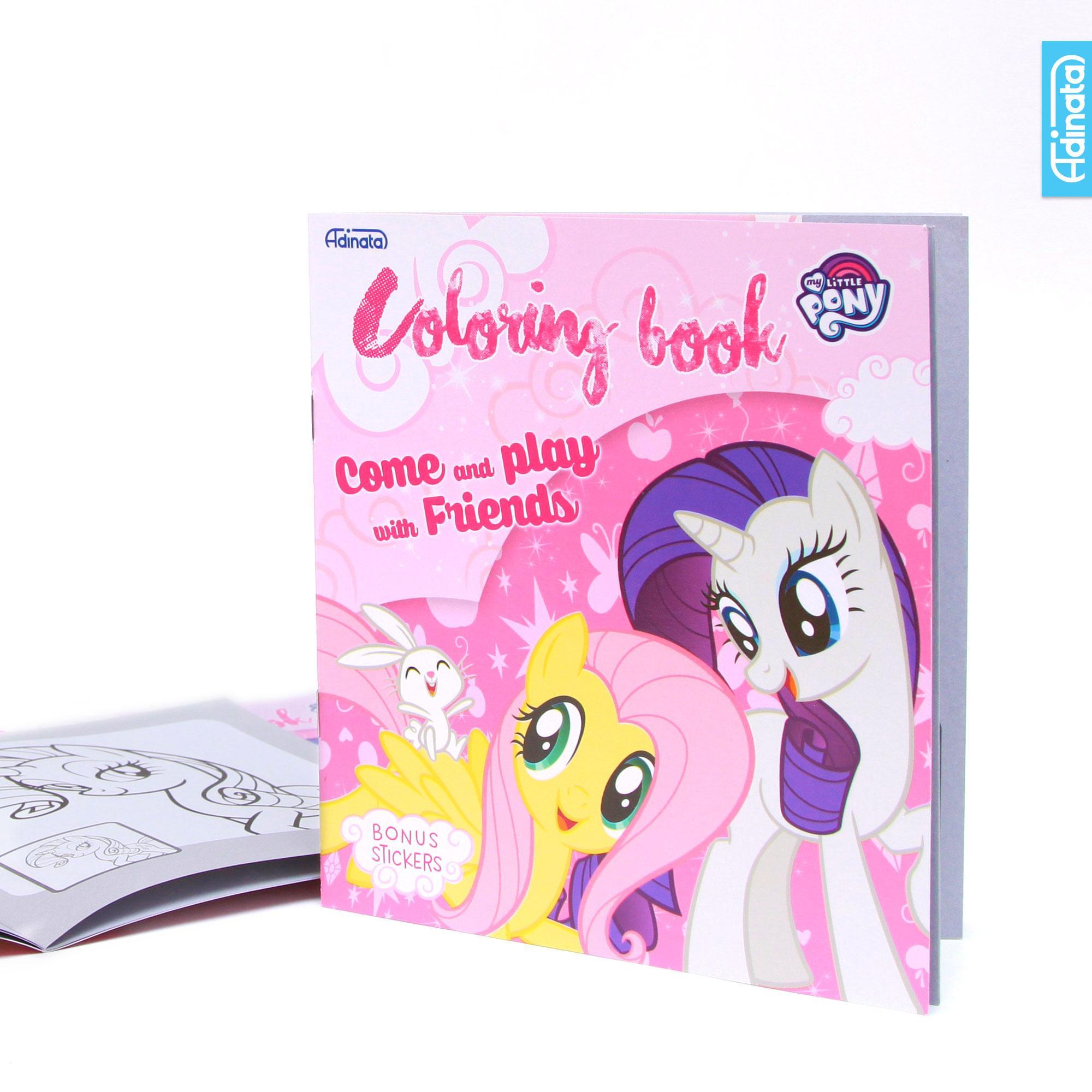 My Little Pony Coloring Book S Adinata / Buku Mewarnai / Buku Anak