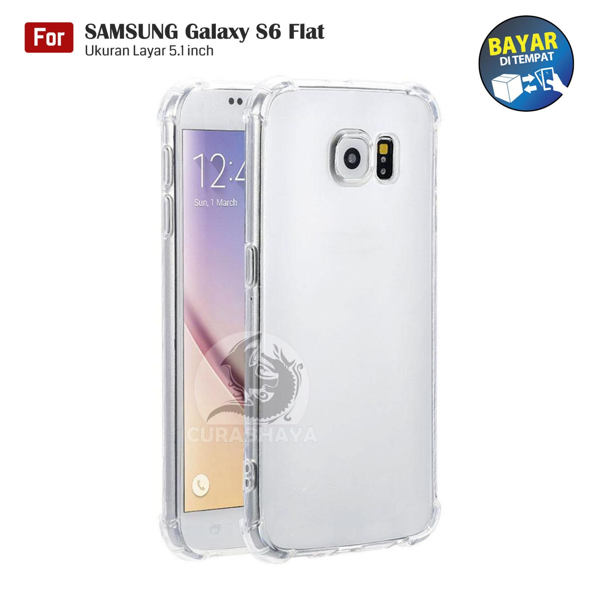 AirShock Samsung Galaxy S6 Flat (G920) / Duos | Anti Crack Premium Softcase Cushion ShockProof – Bening