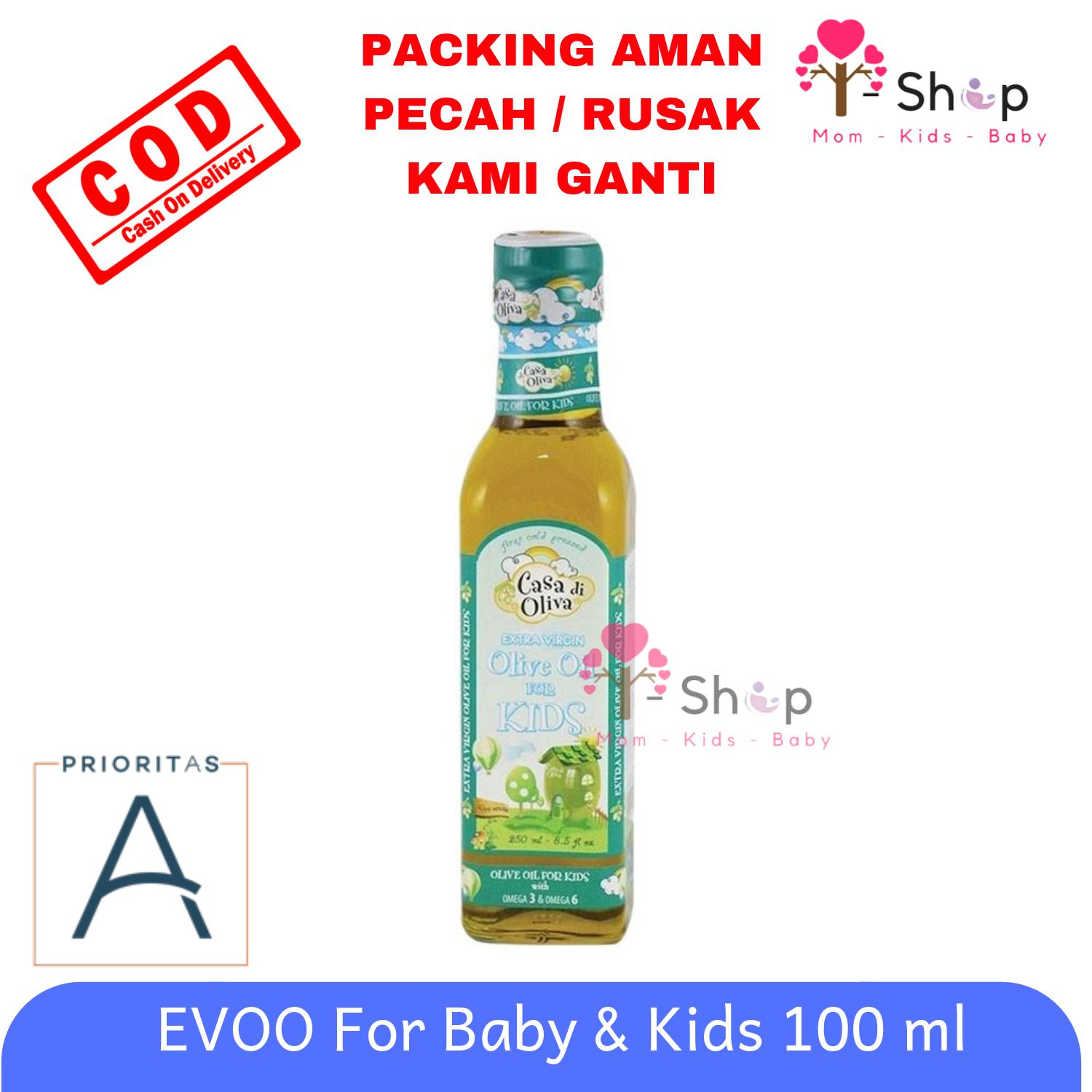 I-Shop Evoo Baby And Kids - Casa Di Oliva Extra Virgin Olive Oil For Kids / Minyak Zaitun 250 Ml By I-Shop Surabaya.