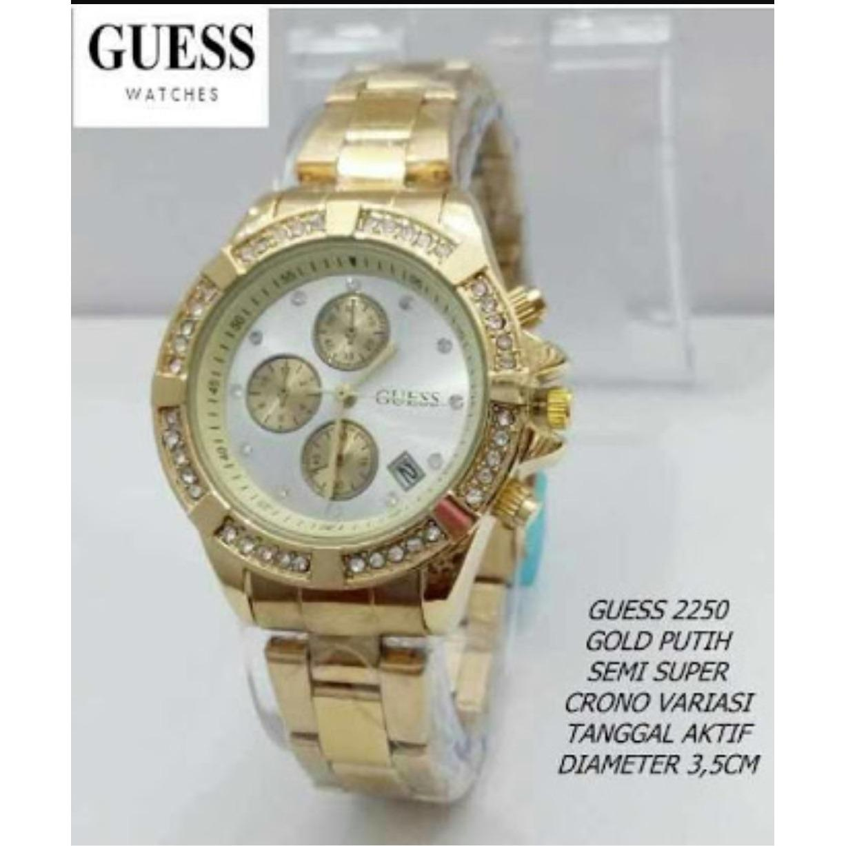 Guess W0669g1 Jam Tangan Pria Chronograph Leather Brown Rose Gold Lee Cooper Lc 41g A Multicolor Alexandria Limited Edition Elegant Series Wanita Formal Kasual Terbaru