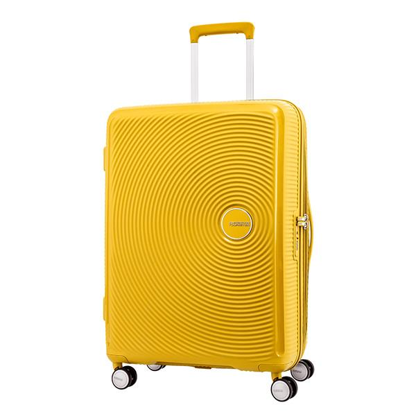 American Tourister Curio Spinner 69/25 EXP TSA Golden Yellow