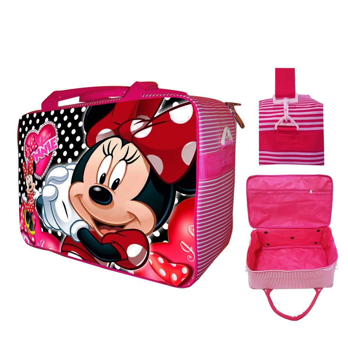 Tas Travel Koper Anak Minnie Mouse