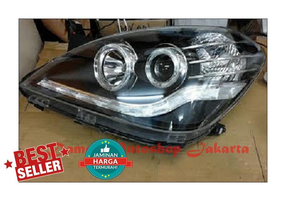 Headlamp Toyota Avanza 2007 - 2011 Projector Black Starline Eagle Eyes