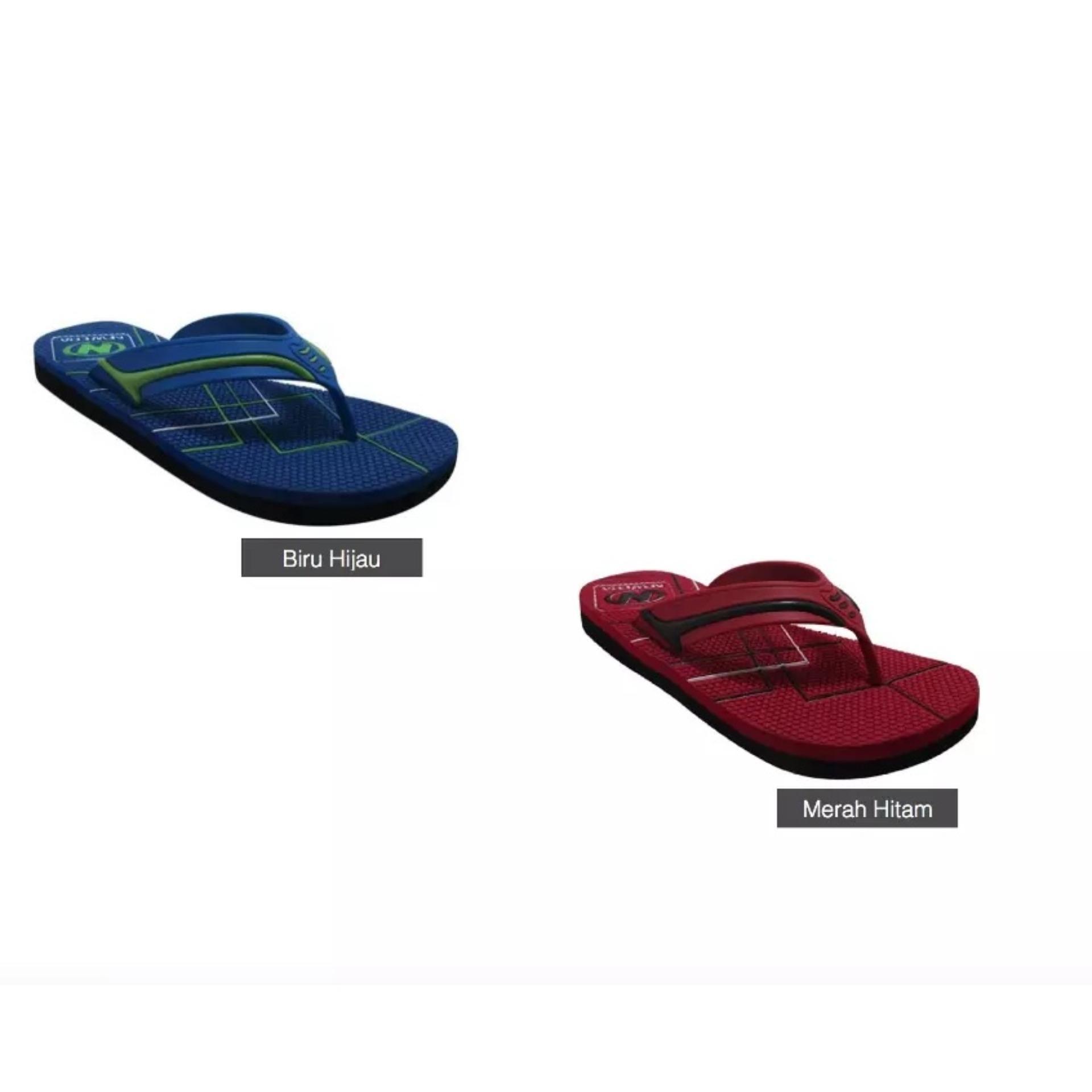 Sendal Jepit / Sandal Jepit Pria NEW ERA HRV-Merah-Size40