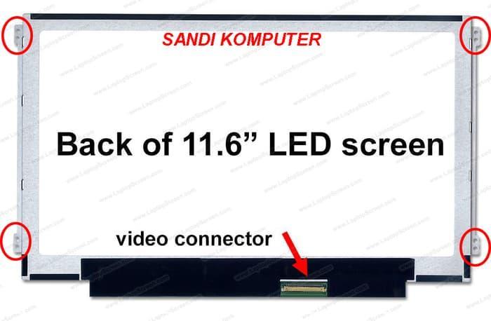 Diskon 10%!! Lcd Led Sony Vaio  Sve111B11W  Vpcyb4Aja 11.6 Inch Slim - ready stock